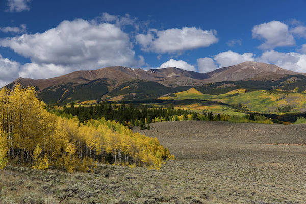 Summer Falls Into Autumn - Mt. Elbert, Colorado Art Print