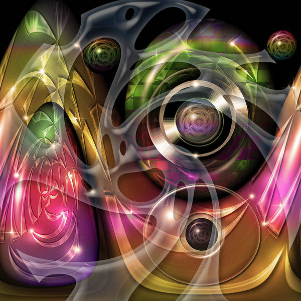 Showpiece Digital Art - Summer Fantasy by Andy Young