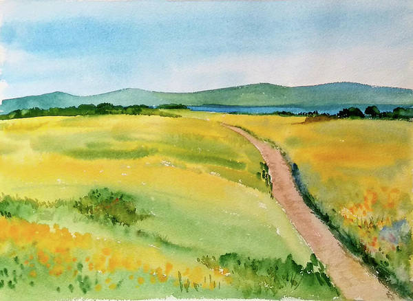 Painting - Summer Fields by Asha Sudhaker Shenoy