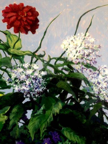 Painting - Summer Flowers 1 by Jeanette Jarmon