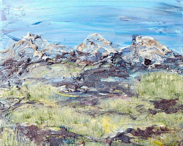 Painting - Summer Foothills by Regina Valluzzi