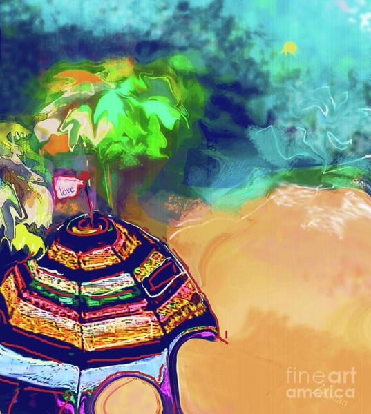 Wall Art - Mixed Media - Summer Fun No. 9 by Zsanan Studio