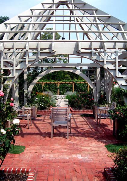 Franklin Park Photograph - Summer Gazebo Of Franklin Park Conservatory by Mindy Newman