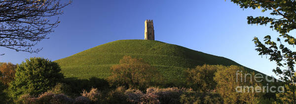 Somerset County Photograph - Summer Glastonbury Tor St Michaels Tower Somerset Levels by Dave Porter