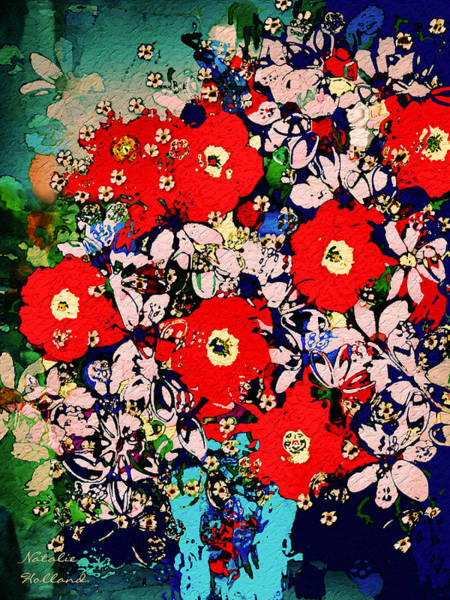 New Leaf Mixed Media - Summer Glory by Natalie Holland