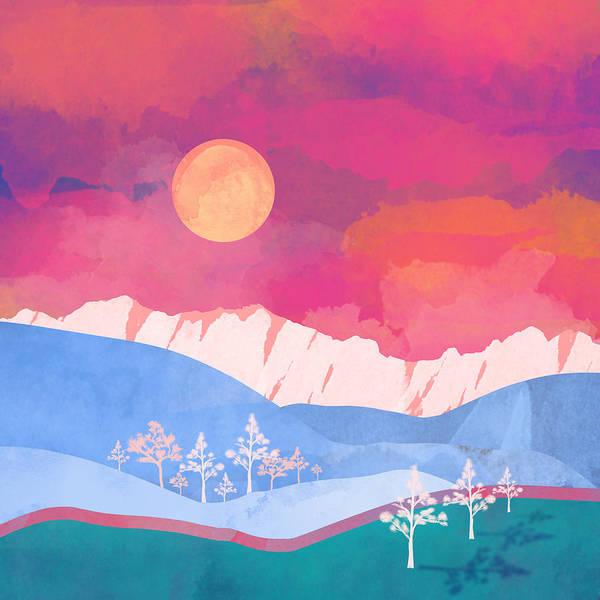 Glow Digital Art - Summer Glow by Spacefrog Designs