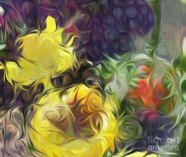 Digital Art - Summer Gold by Kathie Chicoine
