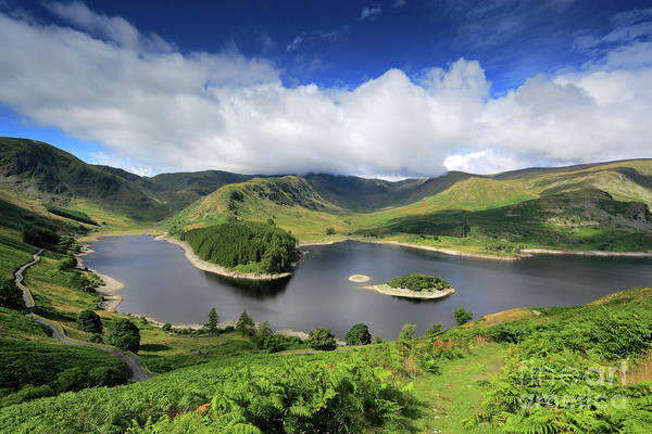 Haweswater Wall Art - Photograph - Summer, Haweswater Reservoir, Mardale Valley, Lake District by Dave Porter