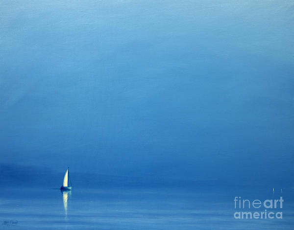 Set Sail Painting - Summer Haze by Derek Hare