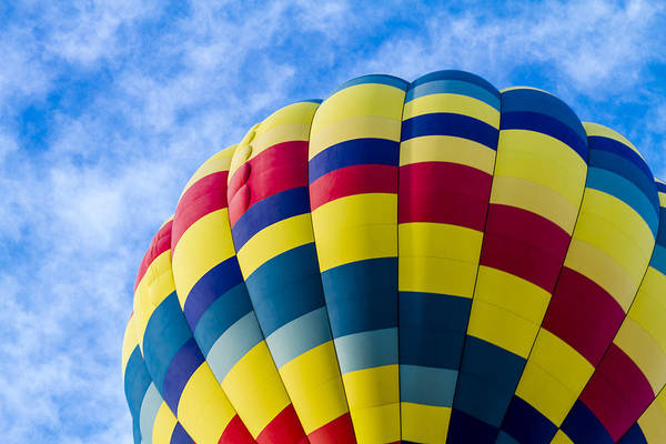 Photograph - Summer Hot Air Balloon Fun by Teri Virbickis