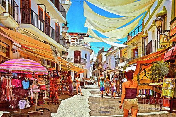 Wall Art - Photograph - Summer In Nerja by Mary Machare
