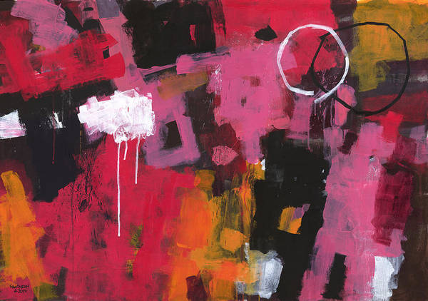 Gestural Painting - Summer In My Mind by Douglas Simonson