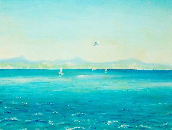 Port Townsend Painting - Summer In Port Townsend by FS Boric