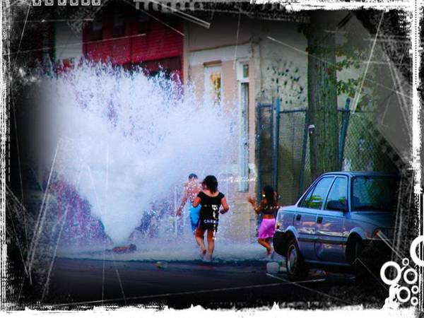 Water Hydrant Photograph - Summer In The City by Bill Cannon