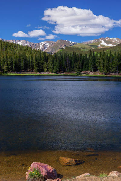 Photograph - Summer In The Rockies by John De Bord
