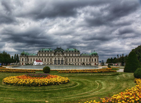 The Belvedere Photograph - Summer In Vienna by Kathi Isserman