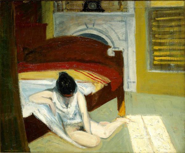 Wall Art - Painting - Summer Interior by Edward Hopper