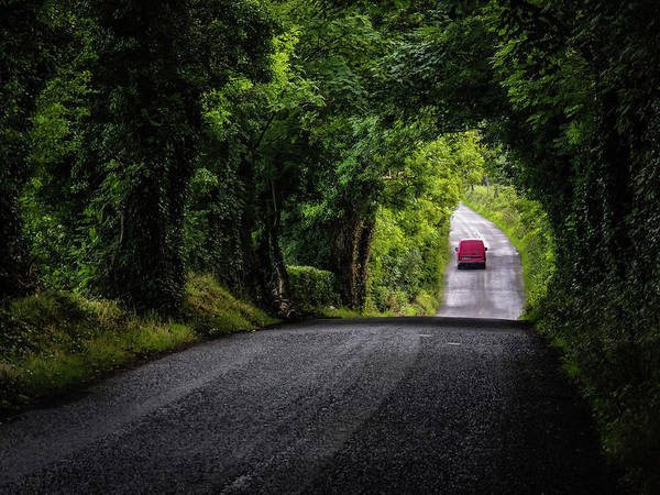 Photograph - Summer Irish Country Road by James Truett
