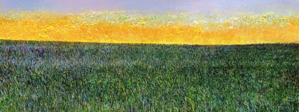 Painting - Summer Is Coming Abstract by Menega Sabidussi