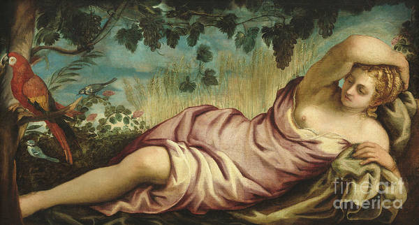 Wall Art - Painting - Summer by Jacopo Robusti Tintoretto