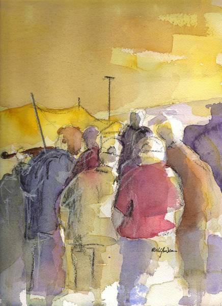 Jam Painting - Summer Jam by Robert Yonke