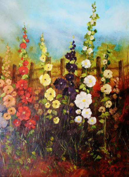 Fencepost Painting - Summer Joy   #87 by Frederick  Skidmore