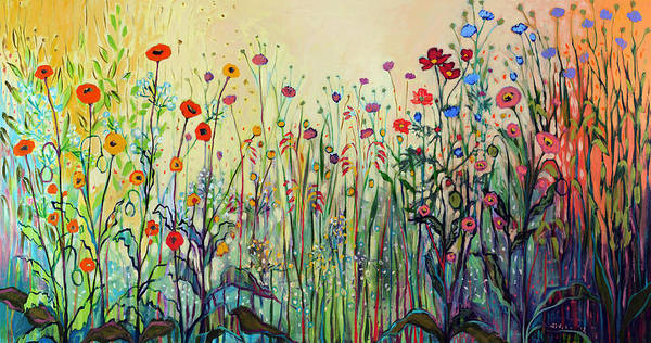 Wall Art - Painting - Summer Joy by Jennifer Lommers