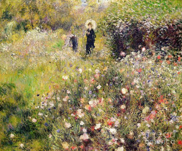 Renoir Wall Art - Painting - Summer Landscape by Pierre Auguste Renoir