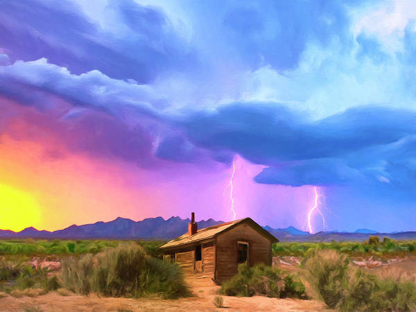 Painting - Summer Lightning by Dominic Piperata