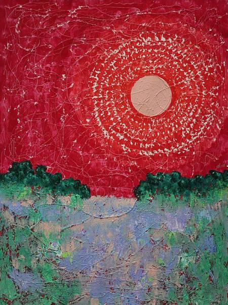 Photograph - Summer Marsh Original Painting by Sol Luckman