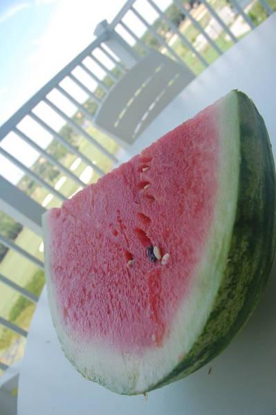 Watermellon Wall Art - Photograph - Summer Melon  by Luke Pickard