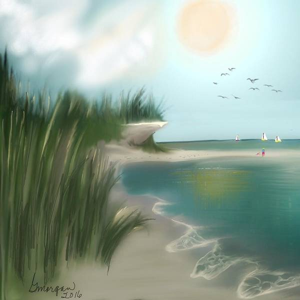 Digital Art - Summer Memory by Gerry Morgan