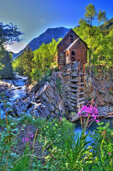 Colorado Springs Photograph - Summer Mill by Scott Mahon