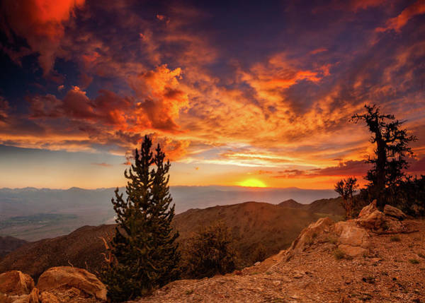Inyo Mountains Photograph - Summer Monsoon Over The Owens by Dan Holmes