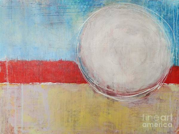 Wall Art - Painting - Summer Moon by Kate Marion Lapierre