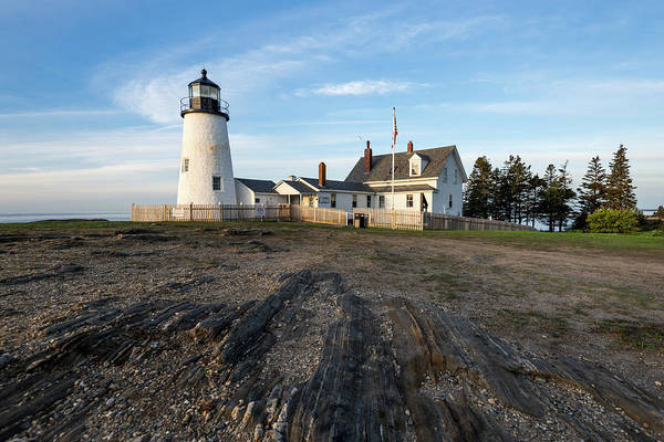 Photograph - Summer Morning At Pemaquid Point by Jesse MacDonald