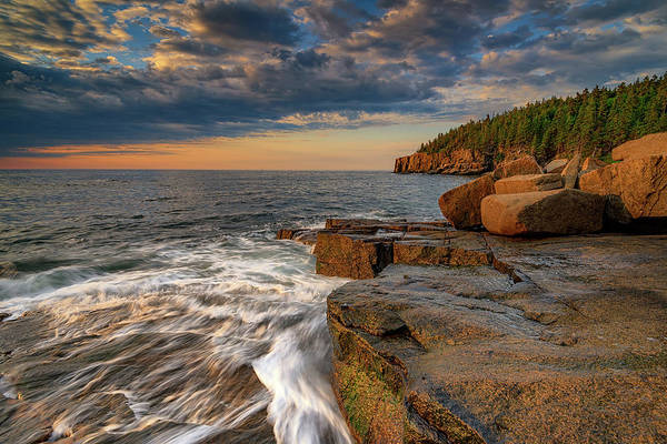 Photograph - Summer Morning In Acadia National Park by Rick Berk