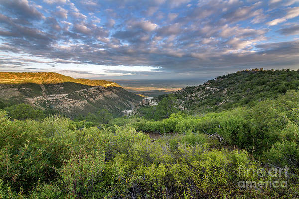 Verde Photograph - Summer Morning In Mesa Verde by Twenty Two North Photography