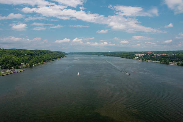 Photograph - Summer Morning View Over The Hudson by Jeff Severson