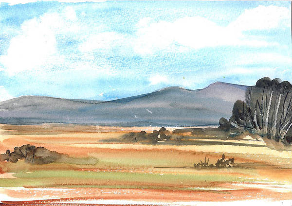 Painting - Summer Mountains by Asha Sudhaker Shenoy