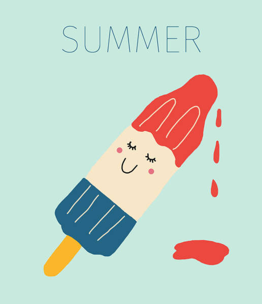 Summer Digital Art - Summer by Nicole Wilson