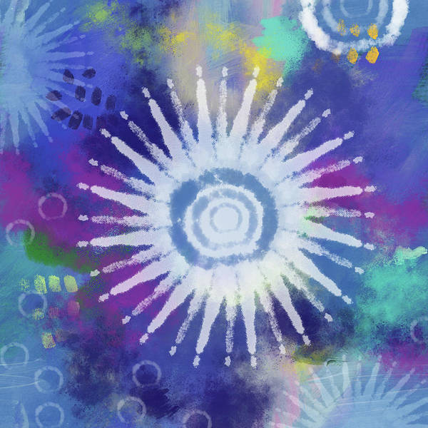 Peace Mixed Media - Summer Of Love 2- Art By Linda Woods by Linda Woods