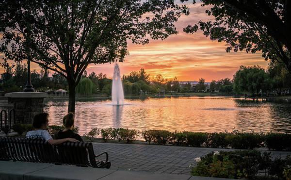 Photograph - Summer Of Love Lake Harveston by Adam Rainoff