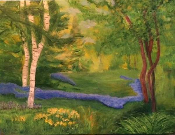 Painting - Summer On Orcas Island by Marilyn Rodriguez