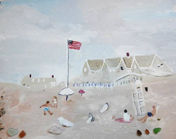 Painting - Summer On The Cape by Jean Forman