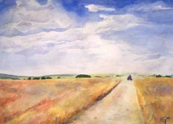Painting - Summer On The Farm by Andrew Gillette