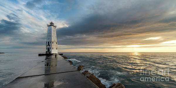 Northern Michigan Photograph - Summer On The North Breakwater by Twenty Two North Photography