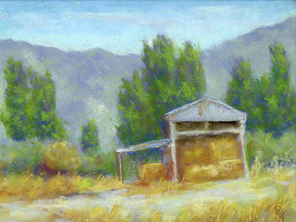 Painting - Summer On The Ranch by David King