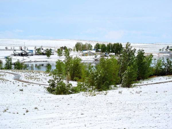 Arapahoe County Wall Art - Photograph - Summer And Winter by Connor Beekman