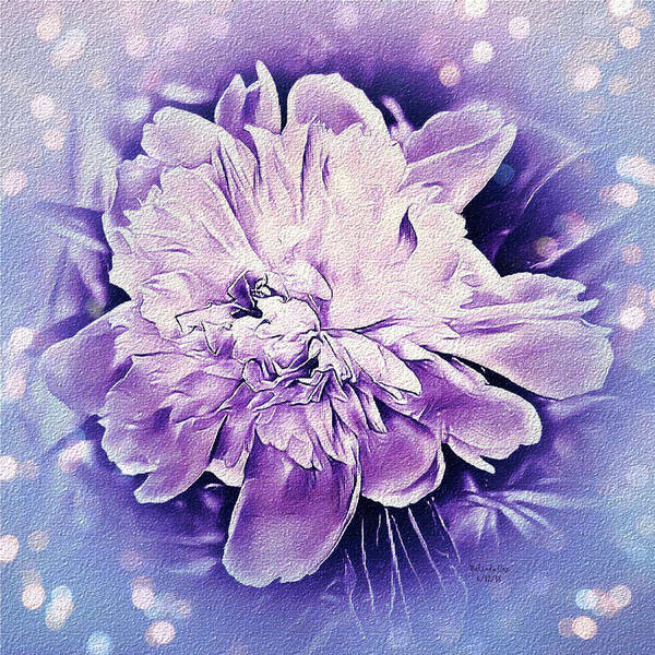 Digital Art - Summer Peony Fantasy  by Artful Oasis